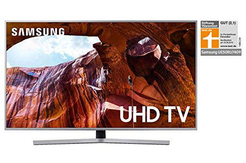 Samsung RU7409 125 cm 50 Zoll LED Fernseher Ultra HD, HDR, Triple Tuner, Smart TV Modelljahr 2019