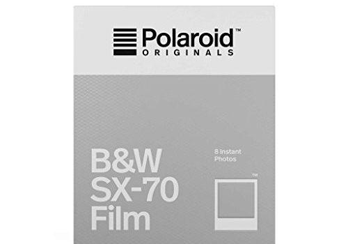 Sofortbildfilm Schwarz und Weiß fûr SX-70 Kamera – Polaroid Originals – 4676