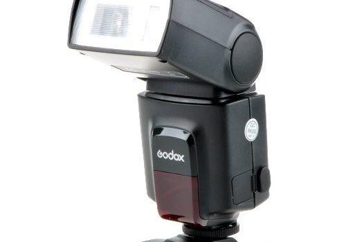 Godox TT520 elektronischer On-Kamera Speedlite Blitzgerät für Canon/Nikon/Olympus/Pentax schwarz