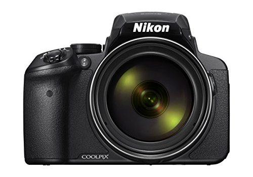 Nikon Coolpix P900 Digitalkamera 16 Megapixel, 83-fach optischer Megazoom, 7,5 cm 3 Zoll RGBW-Display mit 921.000 Pixel, Full-HD-Video, Wi-Fi, GPS, NFC, bildstabilisiert schwarz DE Version