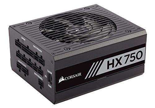 Corsair CP-9020070-UK Professional Platinum Series 1200W ATX/EPS Vollmodulares Netzteil, 750 W, schwarz, UK-Version