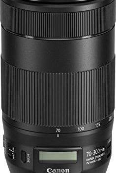 Canon EF70-300mmF/4-5.6ISII USM Objektiv 67 mm Filtergewinde schwarz