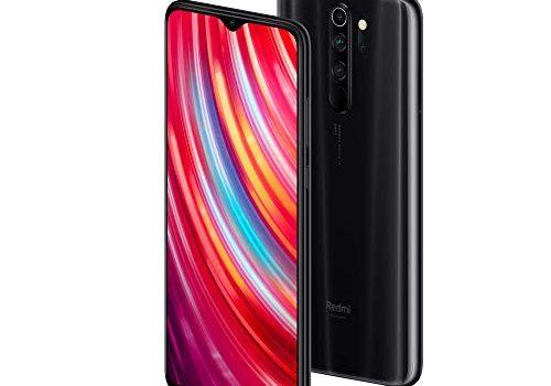 Xiaomi Redmi Note 8 Pro Smartphone 16,59cm 6,53 Zoll FHD+ Display, 64GB interner Speicher + 6GB RAM, 64MP Vierfach-KI-Rückkamera, 20MP Selfie-Frontkamera, Dual-SIM, Android 9 Mineral Grey Grau