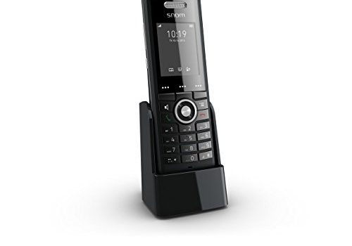 Snom Professional Handset M65 250 Hours Standby, Two-line Display 2×16 characters, SW Upgrade Over-the-air Black
