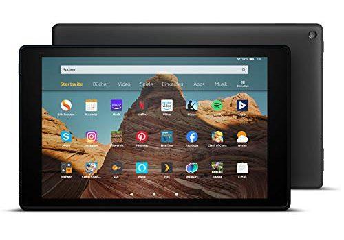 Das neue FireHD10-Tablet│10,1Zoll großes FullHD-Display 1080p, 32 GB, Schwarz mit Spezialangeboten