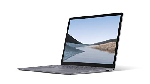 Microsoft Surface Laptop 3, 13,5 Zoll Laptop Intel Core i5, 8GB RAM, 128GB SSD, Win 10 Home Platin