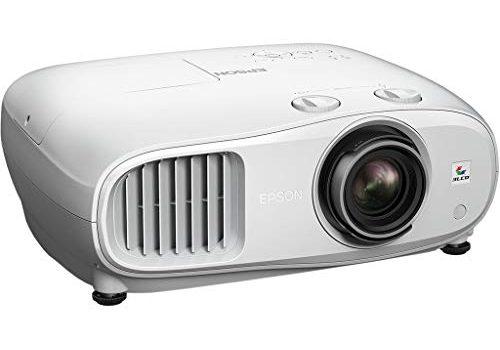 Epson EH-TW7000 4k Pro-UHD 3LCD-Beamer Kontrastverhältnis 40.000:1, Weiß- und Farbhelligkeit 3000 Lumen, ohne Lautsprecher