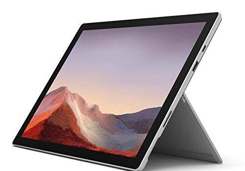 Microsoft Surface Pro 7, 12,3 Zoll 2-in-1 Tablet Intel Core i5, 8GB RAM, 128GB SSD, Win 10 Home Platin Grau
