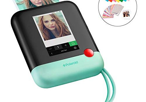 Polaroid POP 2.0 20MP Digital Sofortbildkamera mit 3,97 Touchscreen-Display, Zink Zero Ink-Technologie druckt 3,5 x 4,25 Fotos, Grün