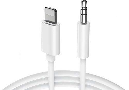 Aux Kabel Auto Handy 1M Auto Aux Kabel für iPhone 8 Audio Kabel Klinke auf 3,5mm Kompatibel mit iPhone X/XR / 8 Plus/ 7/7 Plus Link zu KFZ Stereoanlagen & Kopfhörer & Echo Dot & MP3 Player – Weiß