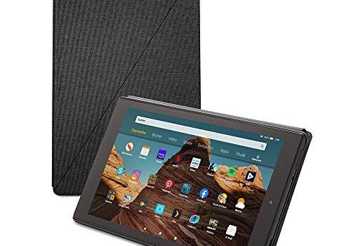 Fire HD 10-Tablet Hülle kompatibel mit Tablets der 9. Generation, 2019, Kohlenschwarz