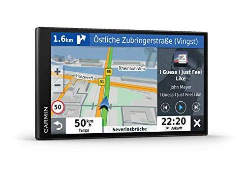 Navi mit Sprachassistenz, Sprachsteuerung, 3D-Navigationskarten – Garmin DriveSmartTM 65 mit Amazon Alexa