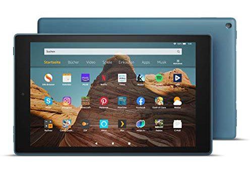 Das neue FireHD10-Tablet│10,1Zoll großes FullHD-Display 1080p, 32 GB, Dunkelblau mit Spezialangeboten