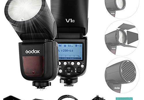 Godox V1C Blitzgerät Speedlite für Canon EOS Serie 1500D 3000D 5D Mark III 5D Mark LL godox v1c Canon