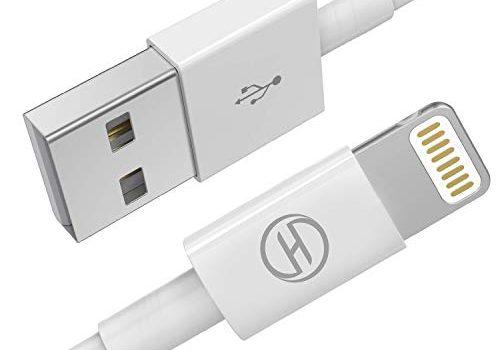 iPhone/iPad Ladegerät kabel/Ladekabel/Leitung,Heardear Lightning-auf-USB-KabelApple MFi-zertifiziertfür iPhone 11 Pro Max/XS Max/XR/X/8/7/6s/6/Plus/5/SE,iPad Pro/Air/Mini,iPodweiß 1M/3.3FTOriginal