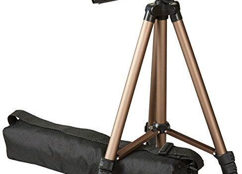 AmazonBasics 127cm 50″  Lightweight Tripod with Bag