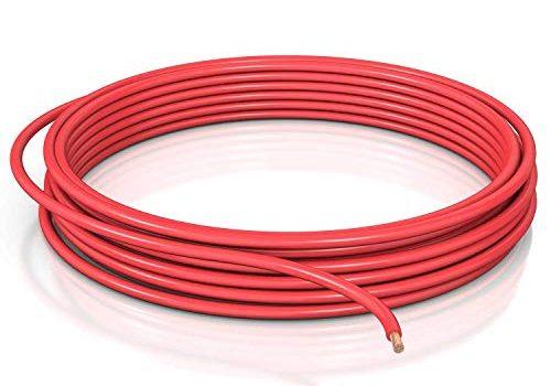 DCSk 4mm² Fahrzeugleitung FLRY B asymmetrisch – rot -10 m Ring – KFZ-Kabel-Litze – 10m