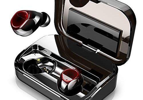 【Neuestes Modell】Bluetooth Kopfhörer, Donerton Kopfhörer Kabellos Bluetooth 5.0 In Ear Kopfhörer, 3500mAh 140H Spielzeit CVC8.0, IPX8 Wasserdicht Sport Kopfhörer, HD-Stereo Mikrofon LED Digitalanzeige