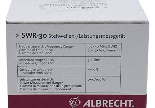 Albrecht Reflektor SWR 30 / Leistungsmesser Code 4412