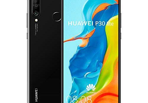 Huawei P30 Lite Midnight Black ohne Simlock, ohne Branding, ohne Vertrag