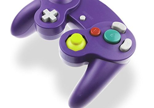 Gamecube Controller Joystick für Wii Wired Game Controller Joypad Dual Vibration NGC Gamepad Game Cube Original Controller Gamecube Spiele für GC & Wii Lila