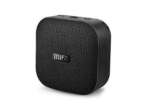 Testsieger 2020 Bluetooth Mini Lautsprecher, MIFA A1 Bluetooth 4.2 Soundbox TWS & DSP IP56 Wasserfest und Staubdicht Speaker, Unterstützt SD-Karte bis zu 32GB Kompatibel mit Huawei iPhone iPad Samsung
