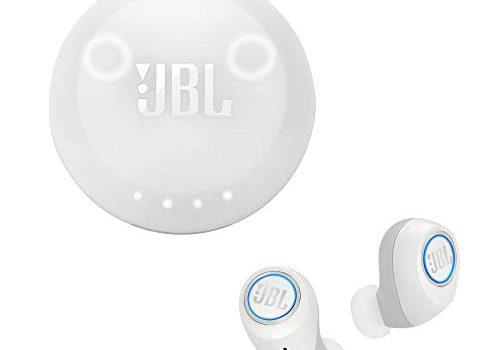 JBL Free X In Ear Bluetooth Kopfhörer in Weiß – Musik Streaming bis zu 24 Stunden – Wireless Headphones mit smarter Ladestation