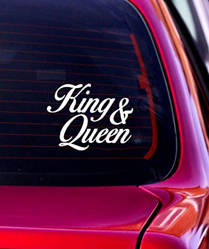 Top 9 KING And QUEEN – Auto-Aufkleber