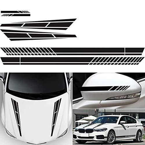 Top 10 Aufkleber Motorhaube Streifen – Auto-Aufkleber