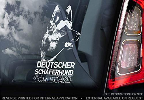 Top 9 Deutscher Schäferhund – Auto-Aufkleber
