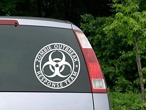 Top 10 Zombie Outbreak Response Team – Auto-Aufkleber